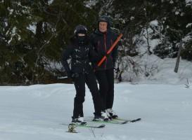 Madonna spotted skiing in Gstaad, Switzerland - December 2013 - Update 1 (15)