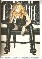 Madonna by Terry Richardson for Harper's Bazaar Turkey - January 2014 issue - Scans (12)