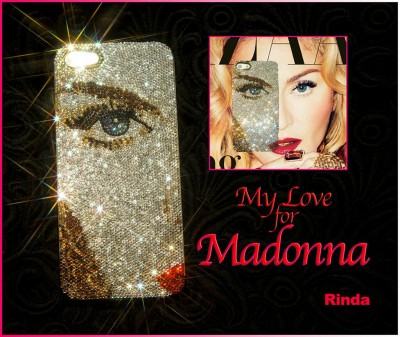 Madonna iPhone Swarovski Cover