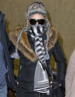 Madonna spotted at JFK Airport, New York - 21 January 2014 (2)