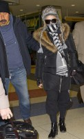 Madonna spotted at JFK Airport, New York - 21 January 2014 (3)