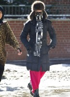 Madonna out and about in New York - 22 January 2014 (1)