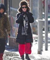 Madonna out and about in New York - 22 January 2014 (2)