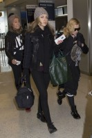 Madonna spotted at JFK Airport, New York - 23 January 2014 (3)