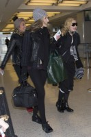 Madonna spotted at JFK Airport, New York - 23 January 2014 (6)