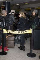 Madonna spotted at JFK Airport, New York - 23 January 2014 (8)