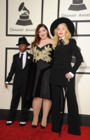 Madonna at the 56th annual Grammy Awards - 26 January 2014 - Update 1 (92)