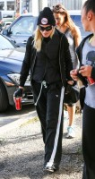 Madonna spotted in Los Angeles wearing No Excuses beanie - 25 January 2014 (1)