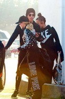 Madonna and Timor Steffens working out in Los Angeles - 29 January 2013 - Pictures (3)