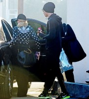 Madonna and Timor Steffens working out in Los Angeles - 29 January 2013 - Pictures (6)