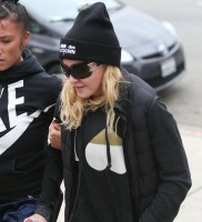 Madonna out and about in Los Angeles - Gym - 30 January 2014 (11)