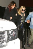 Madonna out and about in Los Angeles - Restaurant - 29 January 2014 (1)