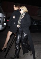 Madonna out and about in Los Angeles - Restaurant - 29 January 2014 (2)