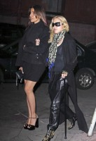 Madonna out and about in Los Angeles - Restaurant - 29 January 2014 (3)