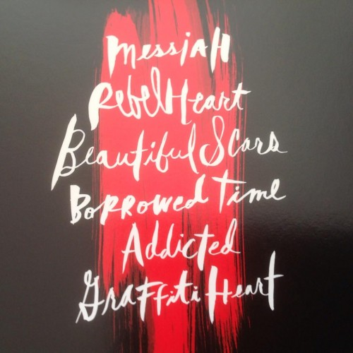 First look at Rebel Heart Booklet (11)
