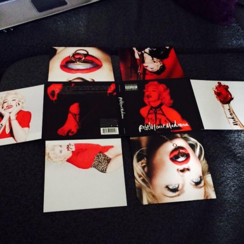 First look at Rebel Heart Booklet (14)