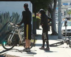 Madonna out and about in Los Angeles - 9 March 2014 (4)