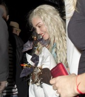 Madonna as Game of Thrones Daenerys Targaryen for Purim - 15 March 2014 (2)