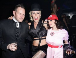 Perez Hilton as Madonna (4)