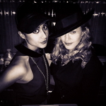 Madonna in the studio with Natalia Kills 01