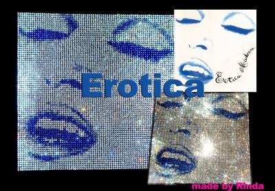 Erotica Swarovski T-Shirt made by Japanese Madonna fan rinda3dayon