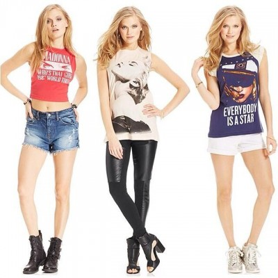 New Material Girl Madonna Graphic Tees
