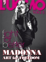 Madonna by Tom Munro for L'Uomo Vogue - Full photo spread (1)