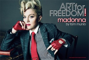 Madonna by Tom Munro for L'Uomo Vogue - Full photo spread (2)