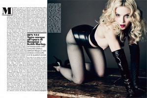 Madonna by Tom Munro for L'Uomo Vogue - Full photo spread (6)