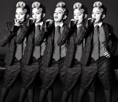 Madonna by Tom Munro for L'Uomo Vogue - Full photo spread HQ (9)