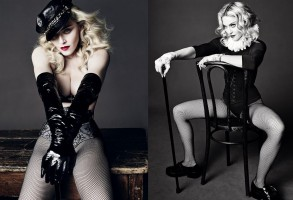 Madonna by Tom Munro for L'Uomo Vogue - Full photo spread HQ (11)