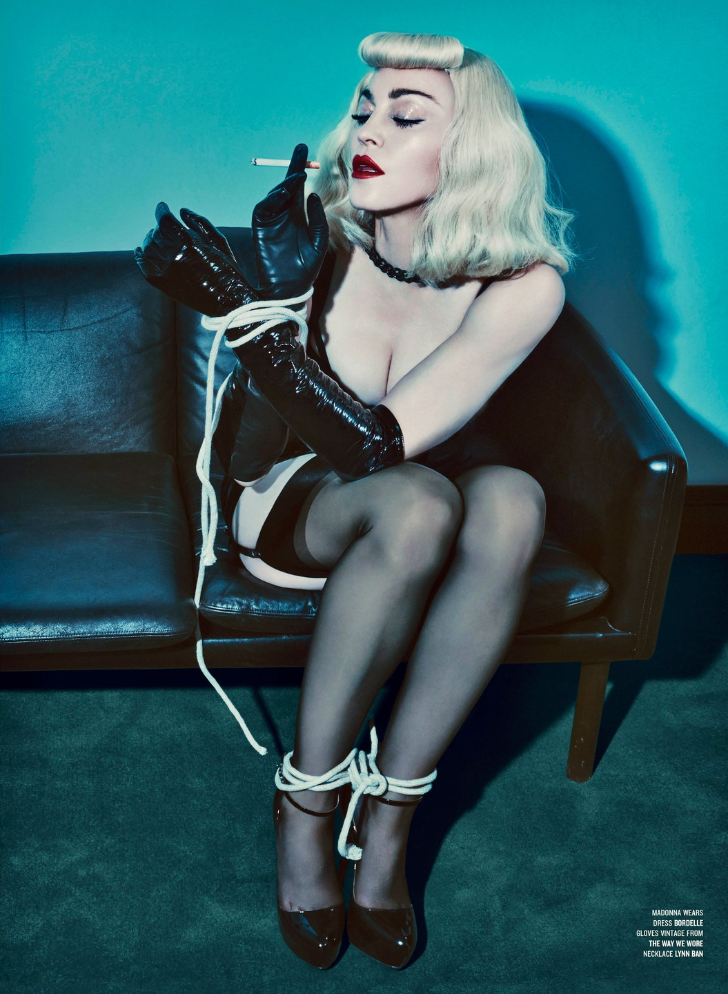 Madonna & Katy Perry by Steven Klein for V Magazine [Summer 2014 ...