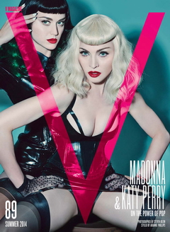 Madonna and Katy Perry by Steven Klein for V Magazine (1)