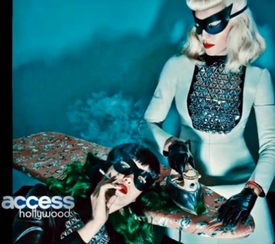 Madonna & Katy Perry by Steven Klein for V Magazine - Summer 2014 issue Outtake