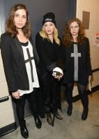 Madonna attends Amnesty International's Bringing Human Rights Home concert - 5 February 2014 (4)