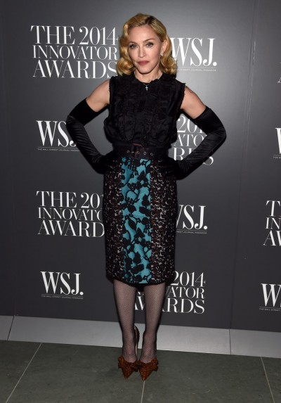 Madonna attends Innovator of the Year Awards in New York - 5 November 2014 (2)
