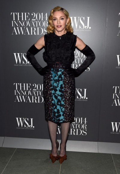 Madonna attends Innovator of the Year Awards in New York - 5 November 2014 (5)