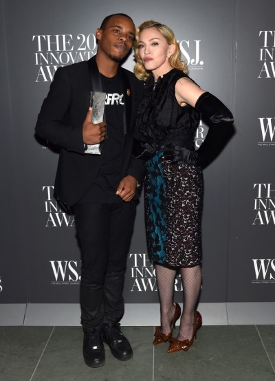 Madonna attends Innovator of the Year Awards in New York - 5 November 2014 (6)