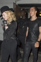 Madonna attends Holler If Ya Hear Me on Broadway with Timor Steffens - 16 June 2014 (3)