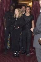 Madonna attends Holler If Ya Hear Me on Broadway with Timor Steffens - 16 June 2014 (4)