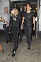 Madonna attends Holler If Ya Hear Me on Broadway with Timor Steffens - 16 June 2014 (6)