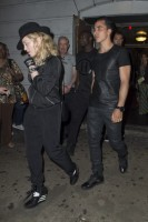 Madonna attends Holler If Ya Hear Me on Broadway with Timor Steffens - 16 June 2014 (7)