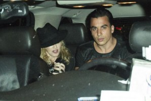 Madonna attends Holler If Ya Hear Me on Broadway with Timor Steffens - 16 June 2014 (8)