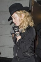 Madonna attends Holler If Ya Hear Me on Broadway with Timor Steffens - 16 June 2014 (11)