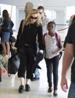 Madonna at JFK airport, New York - 28 June 2014 - Pictures (1)
