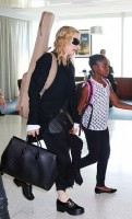 Madonna at JFK airport, New York - 28 June 2014 - Pictures (5)
