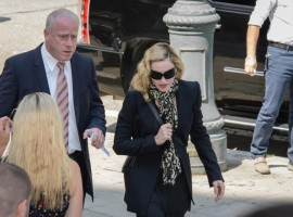 Madonna shows up for jury duty in New York - 7 July 2014 (4)