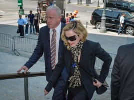 Madonna shows up for jury duty in New York - 7 July 2014 (5)