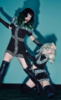 Madonna & Katy Perry by Steven Klein for V Magazine [Summer 2014 issue - Deluxe Edition] (2)