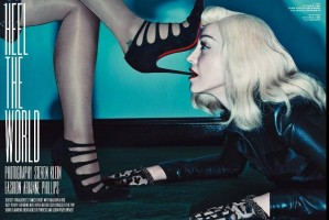 Madonna & Katy Perry by Steven Klein for V Magazine [Summer 2014 issue - Deluxe Edition] (6)